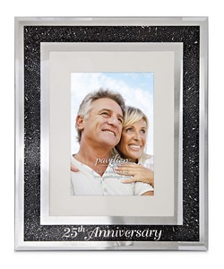 "25th Anniversary by Glorious Occasions - 9""x11"" Frame (Holds 4""x6"" Photo)"