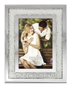 "Our Engagement by Glorious Occasions - 7""x9"" Frame (Holds 4""x6"" Photo)"