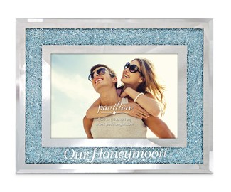 "Our Honeymoon by Glorious Occasions - 9""x7"" Frame (Holds 6""x4"" Photo)"
