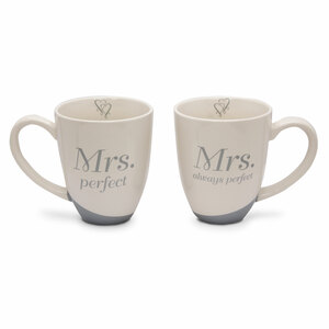 Mrs. Perfect by Glorious Occasions - 14 oz. Cup (Set of 2)