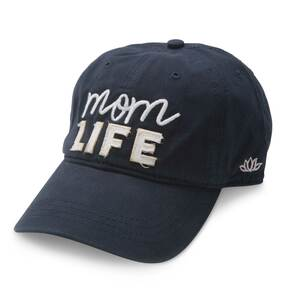 Mom Life by Mom Life - Navy Adjustable Hat