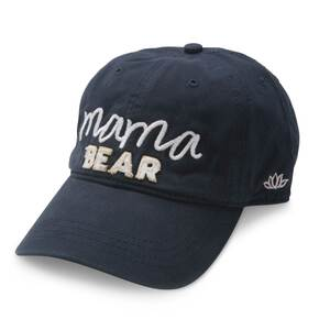 Mama Bear by Mom Life - Navy Adjustable Hat
