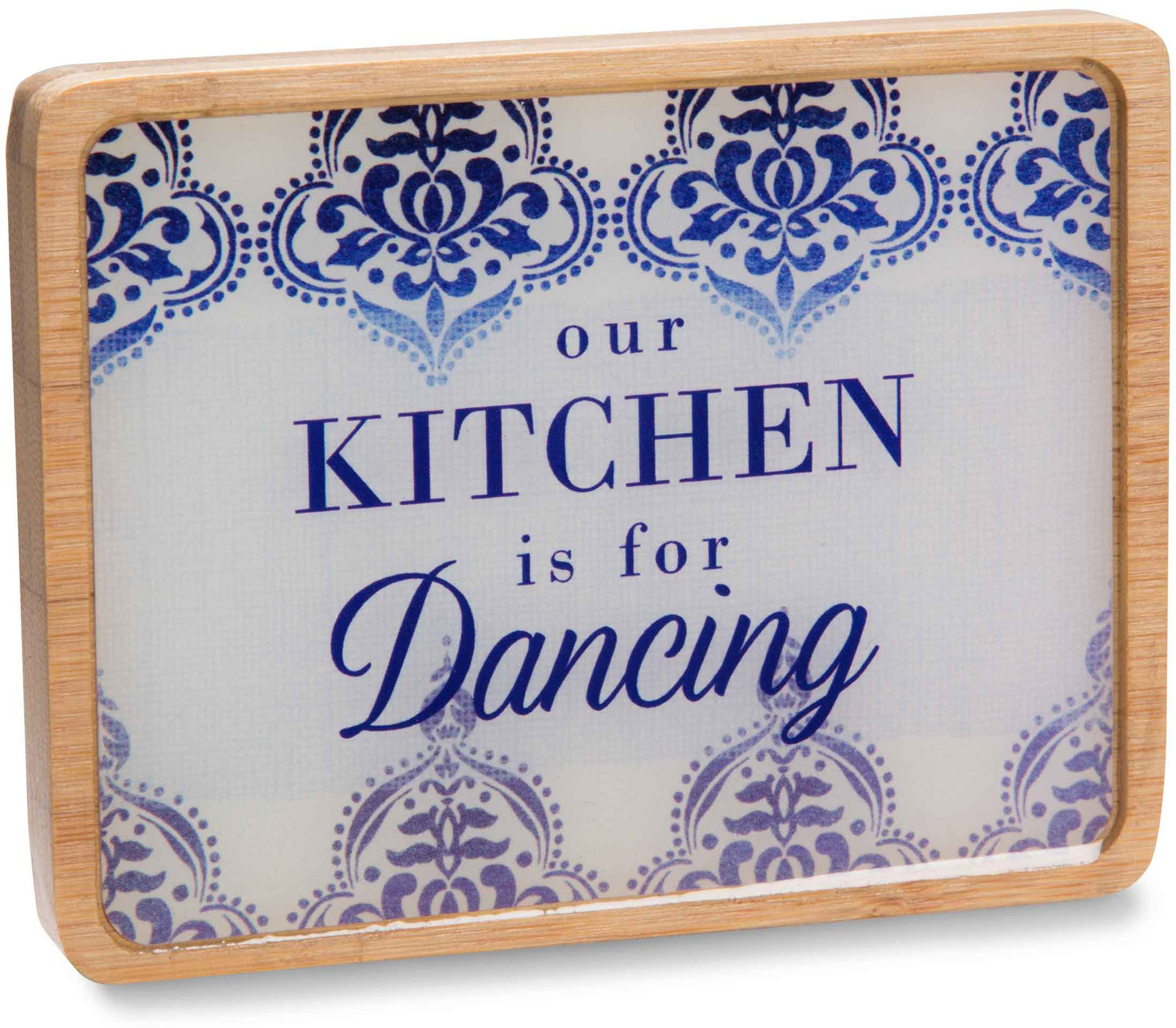 "Our Kitchen by Eat Share Love - Our Kitchen - 3"" x 4"" Magnet Plaque with Easel"