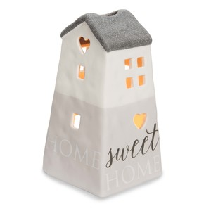 "Home Sweet Home by Love Lives Here - 6"" Porcelain House"