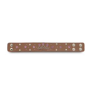 "Princess by LAYLA - 8.75"" Leather Bracelet"