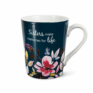 Sister by Flora by Stephanie Ryan - 14 oz Mug