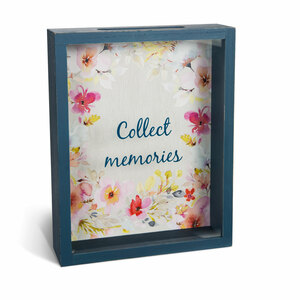 "Collect Memories by Flora by Stephanie Ryan - 10"" x 8"" Memory Box"