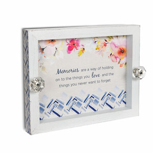 "Memories by Flora by Stephanie Ryan - 9.75"" x 7.5"" Catch All Tray"