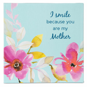 Mother by Flora by Stephanie Ryan - Canvas Plaque with Easel Back