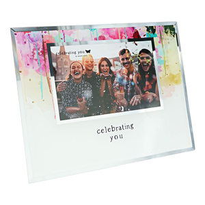 "Celebrating You by Celebrating You - 9.25"" x 7.25"" Frame (Holds 6"" x 4"" Photo)"