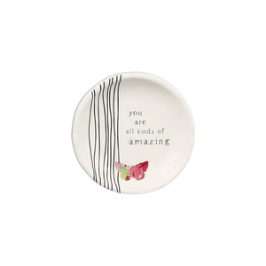 "Amazing by Celebrating You - 4"" Keepsake Dish"