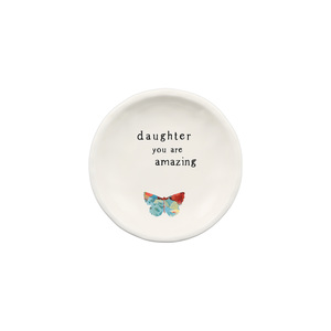 "Daughter by Celebrating You - 4"" Keepsake Dish"