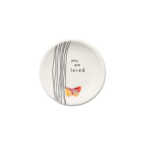 "Loved by Celebrating You - 4"" Keepsake Dish"