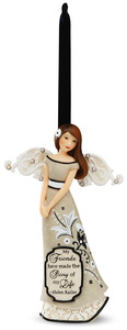 "Friend by Modeles - 4.5"" Angel Ornament"