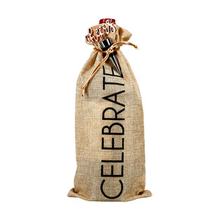 "Celebrate by Hostess with the Mostess - 13.5"" Wine Gift Bag Set"