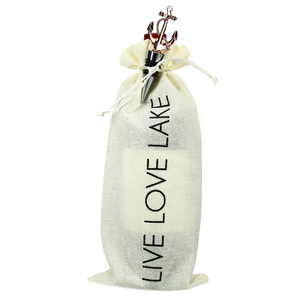 "Lake by Hostess with the Mostess - 13.5"" Wine Gift Bag Set"
