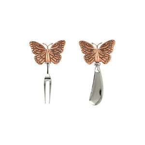 Butterflies by Hostess with the Mostess - Charcuterie 2 Piece Utensil Set