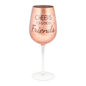 Good Friends by Hostess with the Mostess - 12 oz. Wine Glass