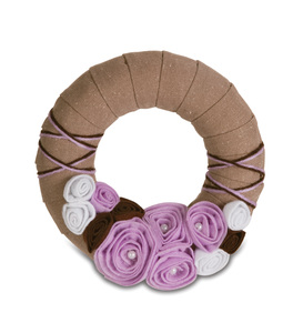"Lavender by Signs of Happiness - 6"" Wreath"