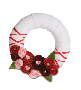 "My Valentine by Signs of Happiness - 6"" Wreath"