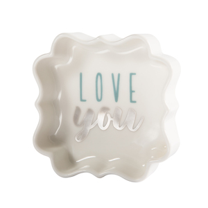 "Love by Best Kept Trinkets - 3"" Trinket Dish"