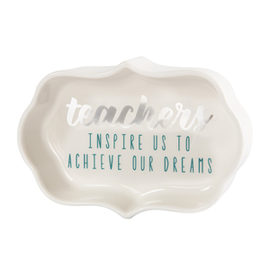 "Teachers by Best Kept Trinkets - 4"" Trinket Dish"