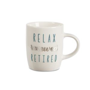 Retired by Best Kept Trinkets - 5 oz. Mini Mug