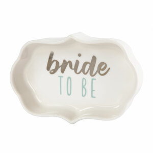 "Bride by Best Kept Trinkets - 4"" Trinket Dish"