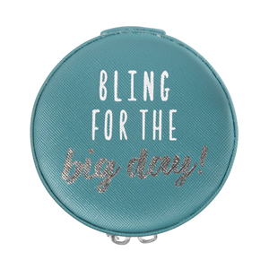 "Bling by Best Kept Trinkets - 3.5"" Zippered Jewelry Case"