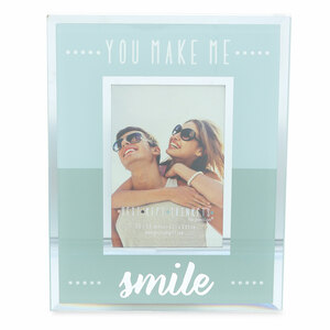 "Smile by Best Kept Trinkets - 4.75"" X 6"" Frame (Holds a 2.5"" X 3.5"" Photo)"