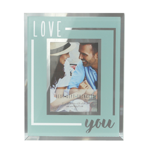 "Love You by Best Kept Trinkets - 4.75"" X 6"" Frame (Holds a 2.5"" X 3.5"" Photo)"