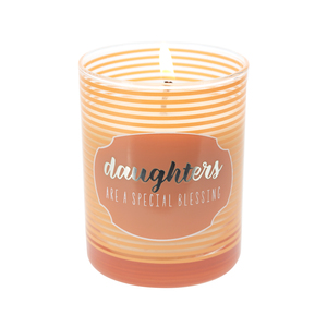 Daughters by Best Kept Trinkets - 7 oz 100% Soy Wax Candle, Scent: Serenity