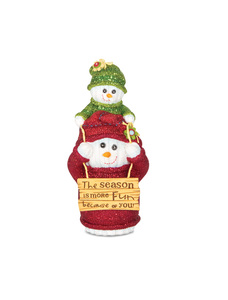 "You & Me by The Sockings - 5"" Snowman on Shoulders"