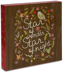 "Star of Wonder by Star of Wonder - 10"" x 10"" Plaque"