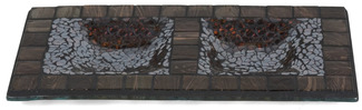 "Mosaic by Fragments - 5""x9.75"" Rec. Candle Holder"