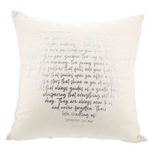 "Forever in our Hearts by Forever in our Hearts - 18"" Pillow"