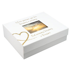 "Memory by Forever in our Hearts - 11"" x 9"" Memory Box"