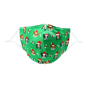Santa Dog by Pavilion Cares - Adult Reusable Fabric Mask