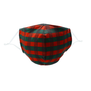Holiday Plaid by Pavilion Cares - Adult Reusable Fabric Mask