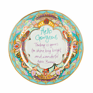 "Hello Gorgeous by Intrinsic - 4.25"" Trinket Dish"