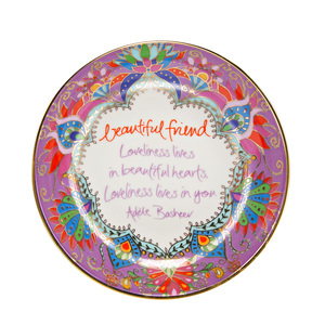 "Beautiful Friend by Intrinsic - 4.25"" Trinket Dish"