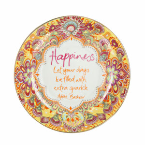 "Happiness by Intrinsic - 4.25"" Trinket Dish"