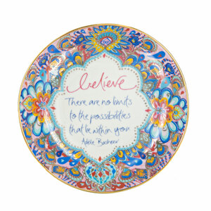 "Believe by Intrinsic - 4.25"" Trinket Dish"