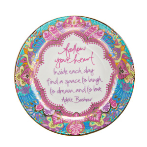 "Follow Your Heart by Intrinsic - 4.25"" Trinket Dish"
