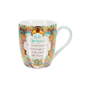 Hello Gorgeous by Intrinsic - 12 oz Cup with Gift Box