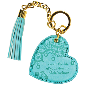 Tahitian Turquoise by Intrinsic - Vegan Leather Keychain