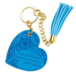 Amalfi Blue by Intrinsic - Vegan Leather Keychain
