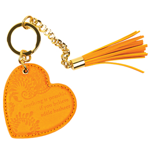 Marigold by Intrinsic - Vegan Leather Keychain