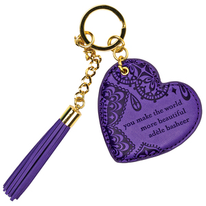 Violet by Intrinsic - Vegan Leather Keychain
