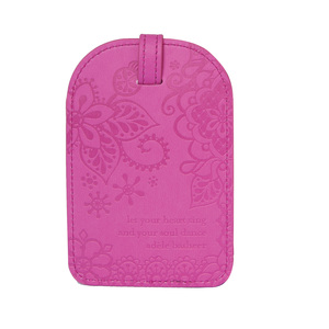 Miami Pink by Intrinsic - Gift Boxed Vegan Leather Luggage Tag